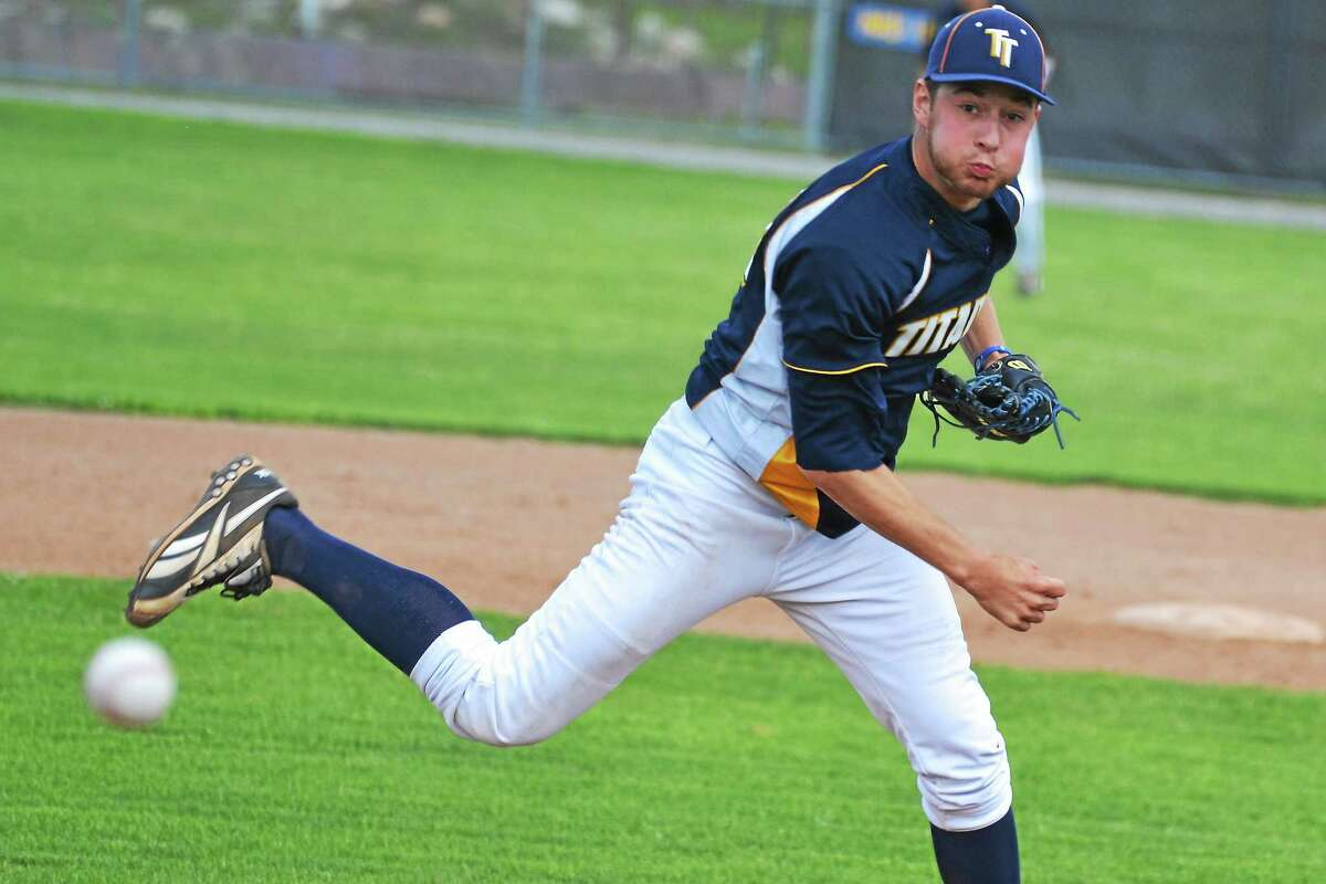Torrington Titans' pitcher Zachary LaRosa took the loss in the first game, going five innings, allowing four runs and striking out one batter. The Old Orchard Beach Raging Tide beat the Titans 5-2.