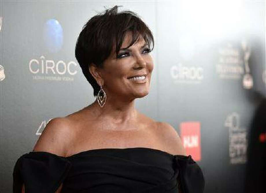 "FILE - In this June 16, 2013 file photo, Kris Jenner arrives at the 40th Annual Daytime Emmy Awards, in Beverly Hills, Calif. Jenner will be joined by Joan Rivers, Kathie Lee Gifford and other co-hosts when her daily talk show, ""Kris,"" launches July 15, 2013, on select Fox TV stations. (Photo by Richard Shotwell/Invision/AP, File) Photo: Richard Shotwell/Invision/AP / Invision"