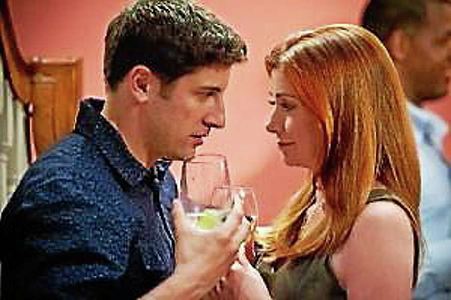 "Jason Biggs and Alyson Hanigan in ""American Reunion."" Photo: (Universal Pictures)"