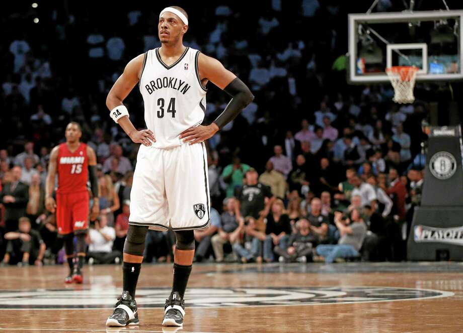 Paul Pierce has officially signed with the Washington Wizards. Photo: The Associated Press File Photo  / AP