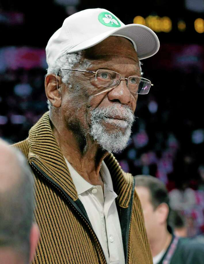 Boston Celtics legend Bill Russell is doing OK after collapsing during a speaking engagement Thursday near Lake Tahoe, Nev. Photo: Eric Gay — The Associated Press File Photo  / AP