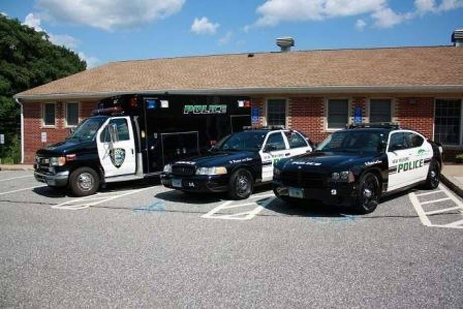 "A view of the police station in New Milford from the department's website, <a href=""http://newmilfordpolice.org"">newmilfordpolice.org</a>."