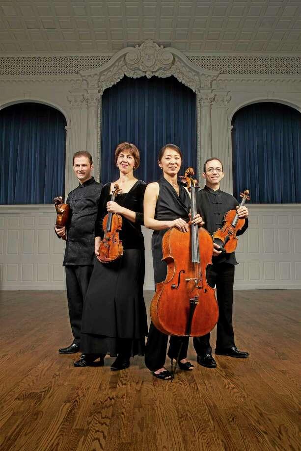 Submitted photo Brentano Quartet Photo: Journal Register Co. / Bob Handelman