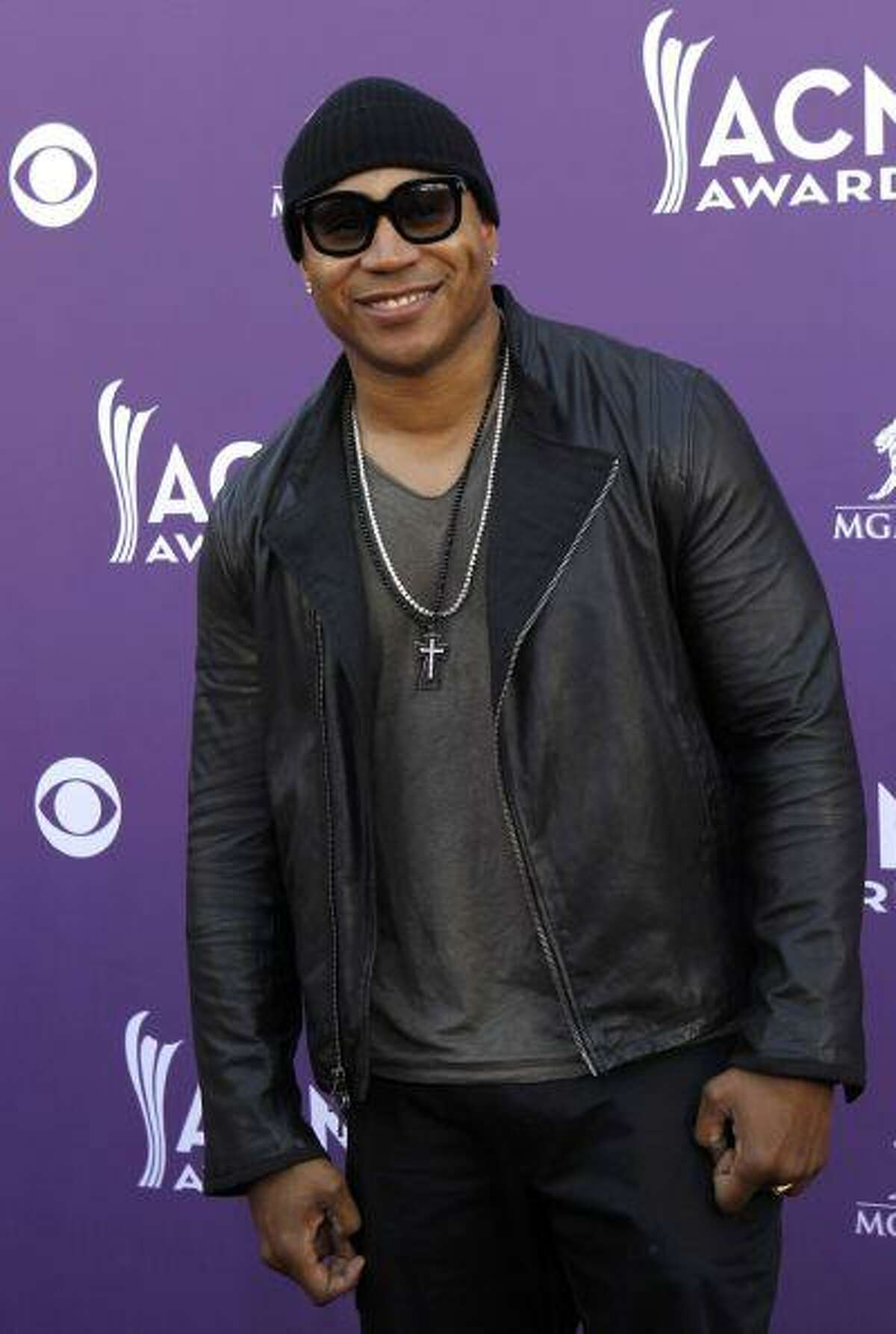 Hip Hop artist LL Cool J arrives at the 48th ACM Awards in Las Vegas, April 7, 2013. REUTERS/Steve Marcus (UNITED STATES - Tags: ENTERTAINMENT) (ACM-ARRIVALS)