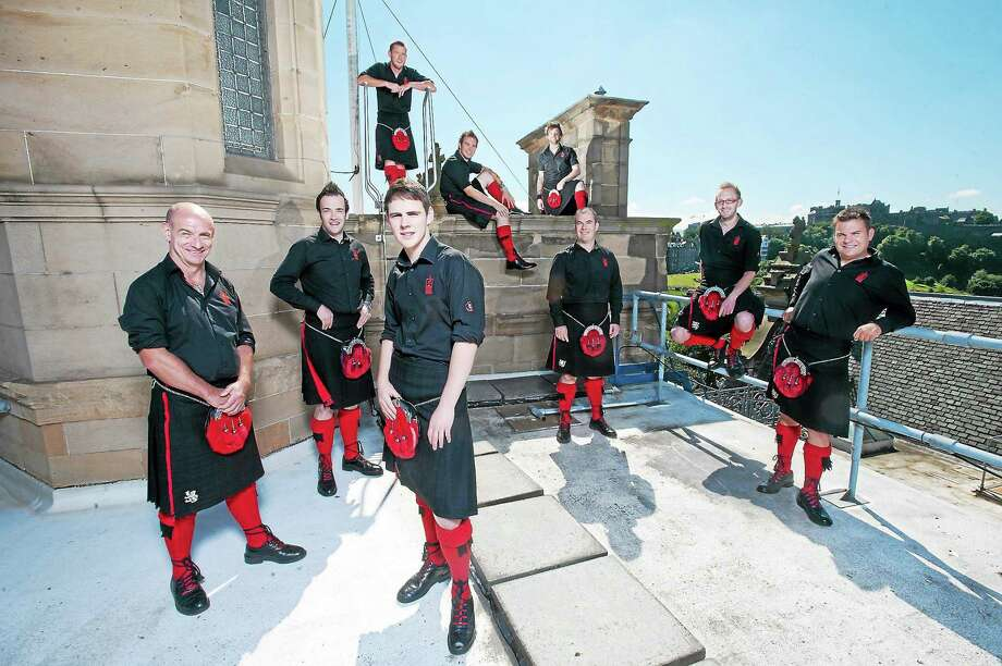 The Red Hot Chili Pipers are coming to the Palace in Waterbury. Photo: Journal Register Co. / Wattie Cheung Photography