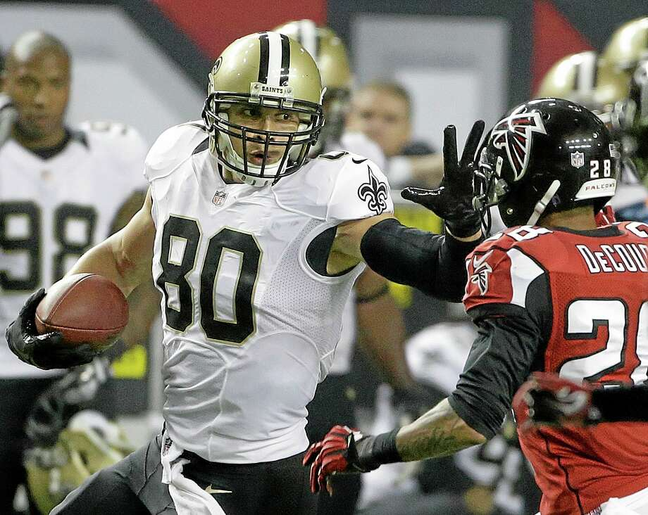 The New Orleans Saints have confirmed a multiyear contract with star tight end Jimmy Graham. Photo: John Bazemore — The Associated Press File Photo  / AP