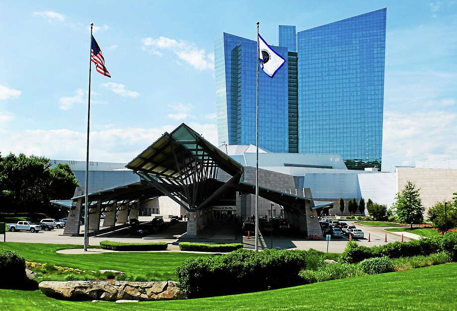 (AP Photo/Jessica Hill) The Mohegan Sun casino in Uncasville, Conn. Photo: AP / FR125654 AP