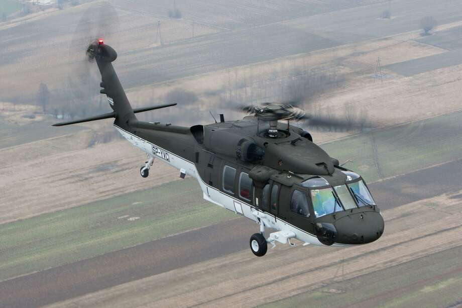 CTMirro.org photo -  A Sikorsky Black Hawk helicopter. The immigration bill that the Senate approved includes the purchase of five.