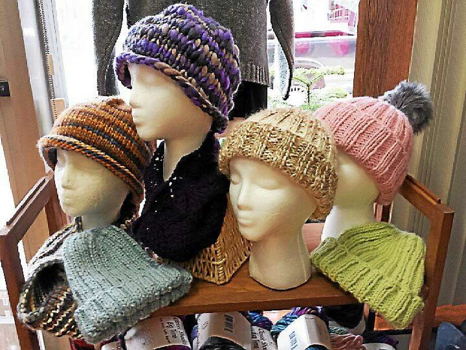 Photo by Ginger Balch So not only can learning to knit be fun, productive and a good way to meet new people, but it can have its health benefits. Photo: Journal Register Co.