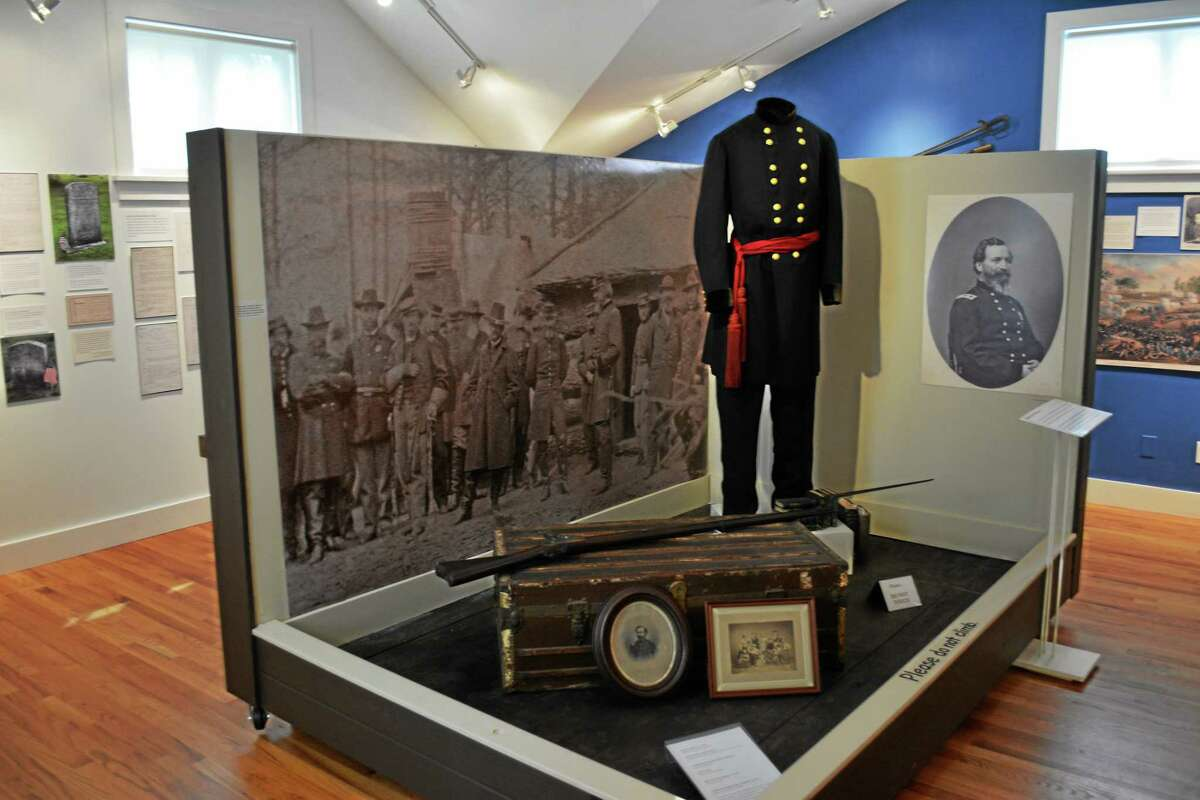 Ryan Flynn - Register Citizen A look back at Cornwall's history in the Civil War is on display at Cornwall Historical Society.