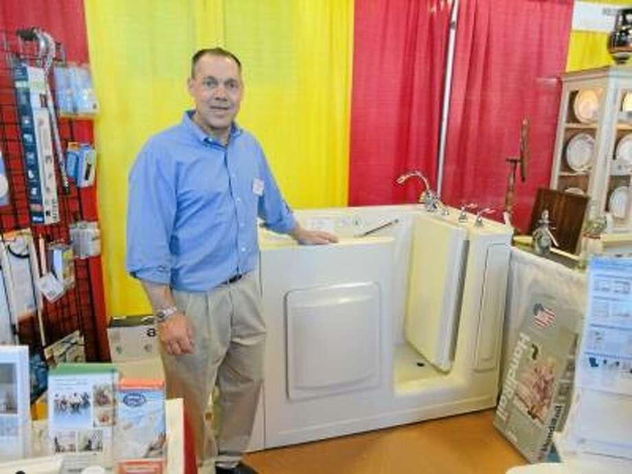 JASON SIEDZIK/ Register Citizen Doyle's Medical Supply was one of over 70 businesses represented at the Northwest Connecticut Chamber of Commerce's home and business expo on Saturday.