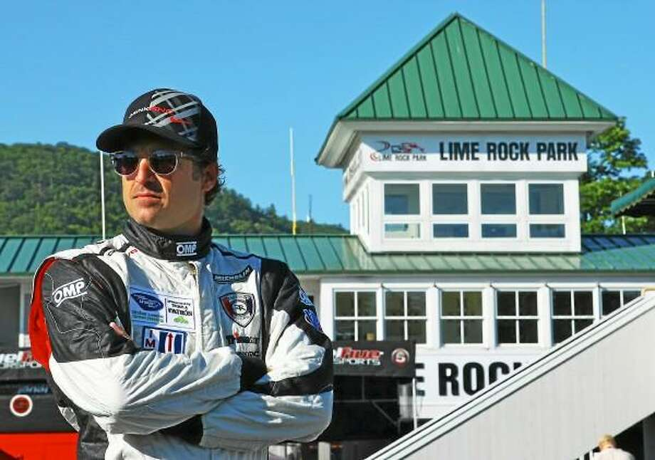 Contributed Photo - Patrick Dempsey has competed pro-am in races since 2009, including the 24 Hours of Le Mans, of which the ALMS is based.