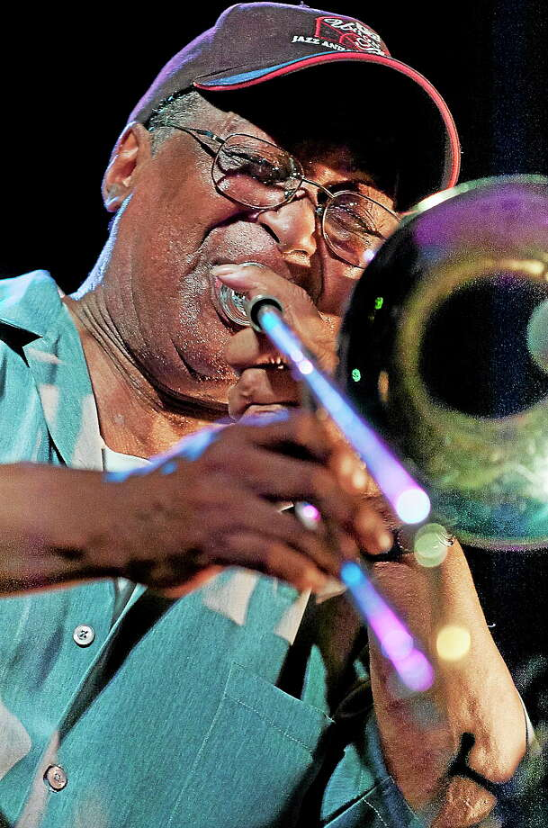 Submitted photo Curtis Fuller Curtis Fuller joins the lineup at the Litchfield Jazz Festival in August. Photo: Journal Register Co.
