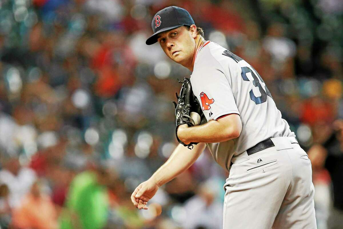 Pitcher Steven Wright, seen here in 2013, is 4-1 with a 2.04 ERA with the Pawtucket Red Sox this season.