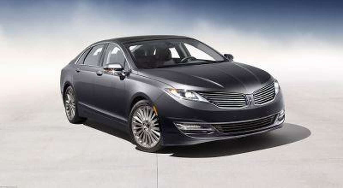 2013 Lincoln MKZ: The 2013 Lincoln MKZ is the first milestone vehicle for the all-new Lincoln brand created by the dedicated Lincoln team in its new Design Studio. (Pre-production model shown)