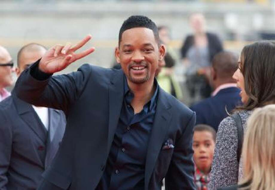 Will Smith attends a photocall for the film After Earth in Moscow, Russia, Monday, May 27, 2013.