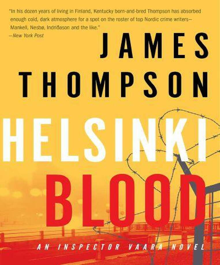 """""""Helsinki Blood,"""" by James Thompson, one of a trio of new Nordic crime dramas."""
