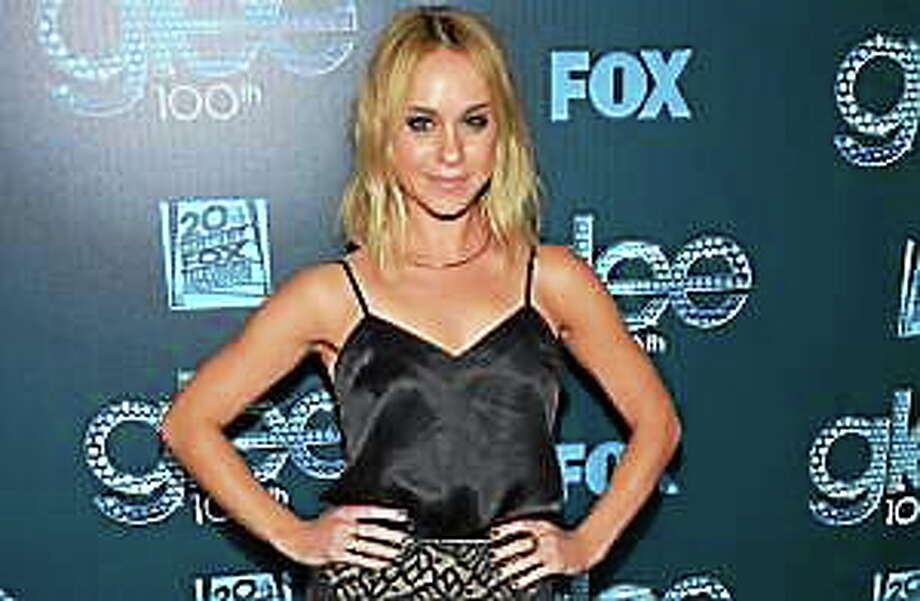 """""""GLEE"""" 100th Episode Celebration - Arrivals Becca Tobin arrives at the """"GLEE"""" 100th Episode Celebration, on Tuesday, March 18, 2014, in West Hollywood, Calif. Photo: (John Shearer — The Associated Press)"""