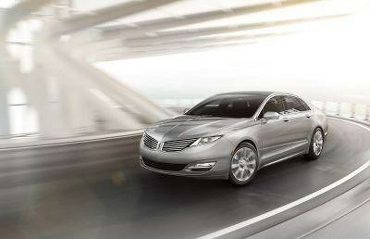 2013 Lincoln MKZ: The 2013 Lincoln MKZ is the first milestone vehicle for the all-new Lincoln brand created by the dedicated Lincoln team in its new Design Studio. (04/02/12)