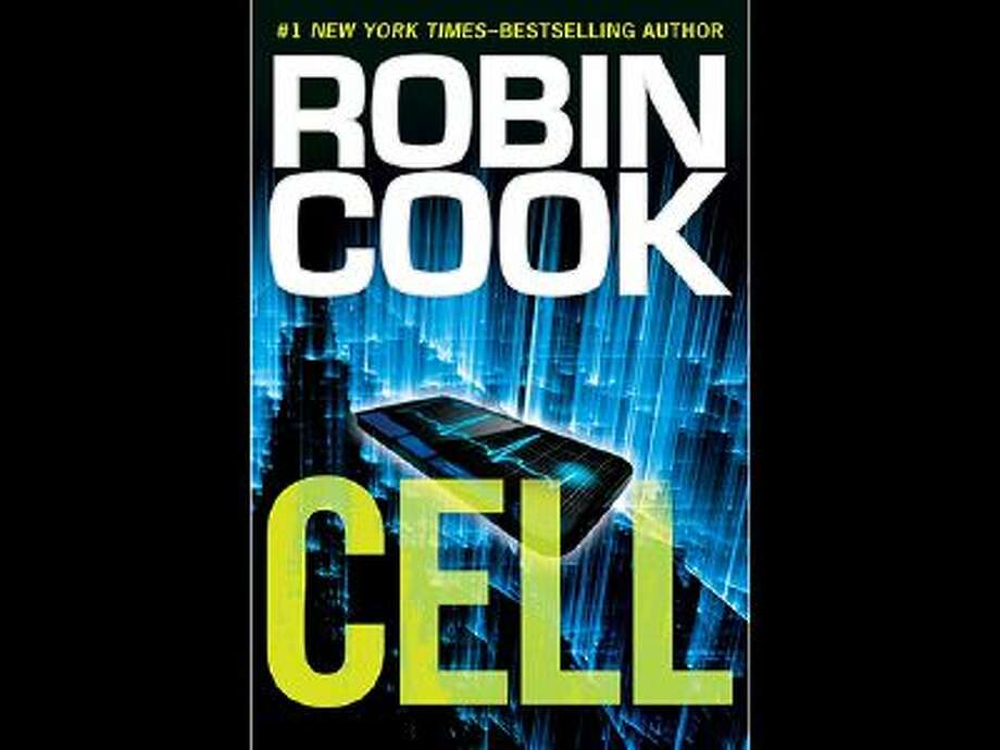 "This book cover image released by Putnam shows ""Cell"" by Robin Cook. Photo: AP / Putnam"
