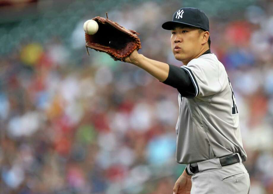 Yankees pitcher Masahiro Tanaka has been placed on the 15-day DL with elbow inflammation. Photo: Jim Mone — The Associated Press  / AP