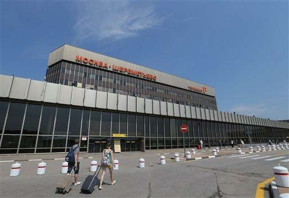 A view of Moscow's Sheremetyevo airport outside Moscow, Russia, on Tuesday, July 2, 2013. Leaker Edward Snowden has been caught in legal limbo in the transit zone of Moscow's Sheremetyevo airport since his arrival from Hong Kong on June 23. U.S. President Obama said Monday during his trip to Africa that every intelligence service in Europe, Asia and elsewhere does its best to understand the world better, and that goes beyond what they read in newspapers or watch on TV. It was an attempt to blunt European reaction to new revelations from National Security Agency leaker Edward Snowden that the U.S. spies on European governments.(AP Photo/Sergei Grits) Photo: AP / AP
