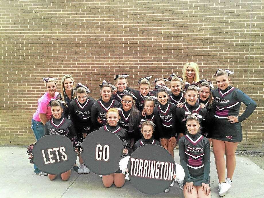 The Torrington Warriors Cheerleaders Photo: Submitted Photo