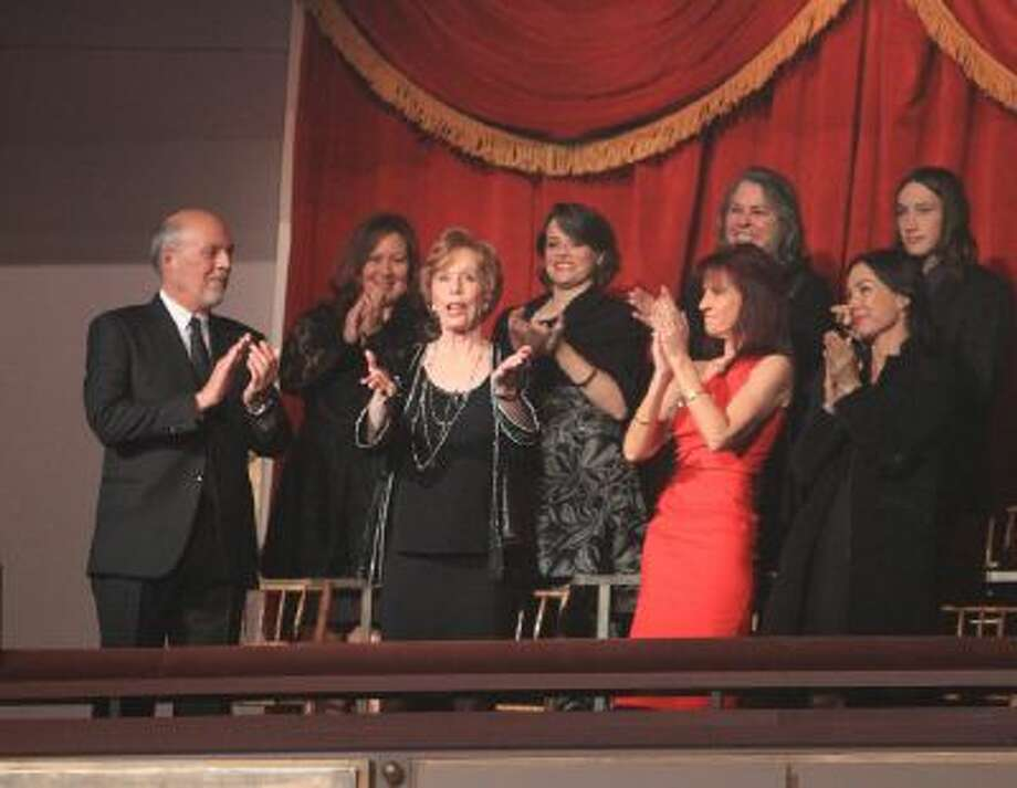 Carol Burnett is honored with the Mark Twain Prize at the Kennedy Center on Sunday, Oct. 20, 2013 in Washington, D.C.