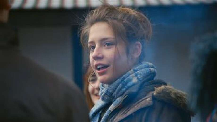 """This photo released by courtesy of Sundance Selects shows Adele Exarchopoulos as Adele in the film, """"Blue Is the Warmest Color,"""" directed by Abdellatif Kechiche. Photo: AP / Courtesy Sundance Selects"""