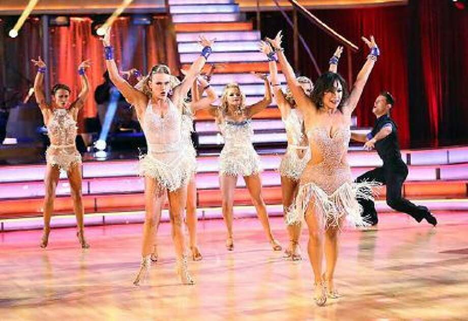 The entire cast at the start of 'Dancing with the Stars' on Monday, October 7, 2013. / © 2013 American Broadcasting Companies, Inc. All rights reserved.