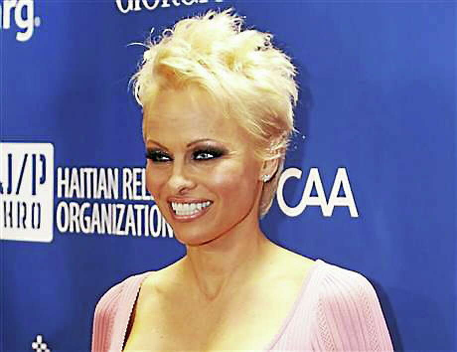 Pam Anderson Photo: AP File Photo