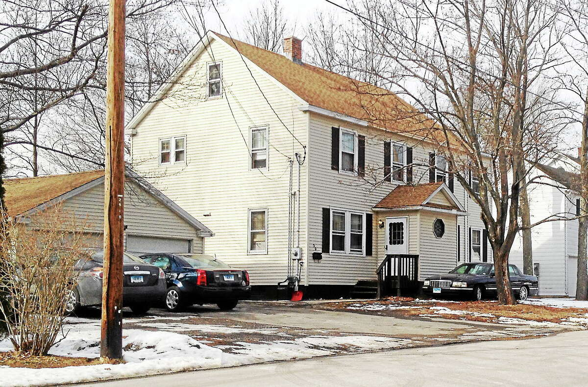 """A sober house known as """"Freedom House"""" on Hartford Avenue in Torrington."""