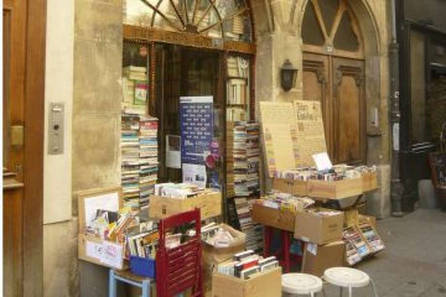 The Abbey Bookshop is one of 700 across Paris.