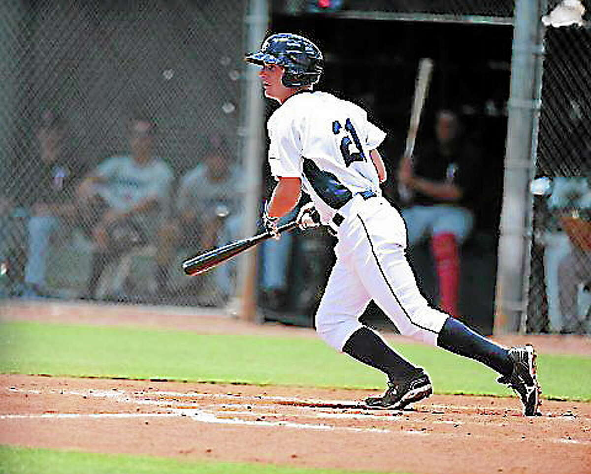 Submitted photo Monroe's Thomas Milone just completed a whirlwind first season with the GCL Rays of the Rookie Gulf Coast League.