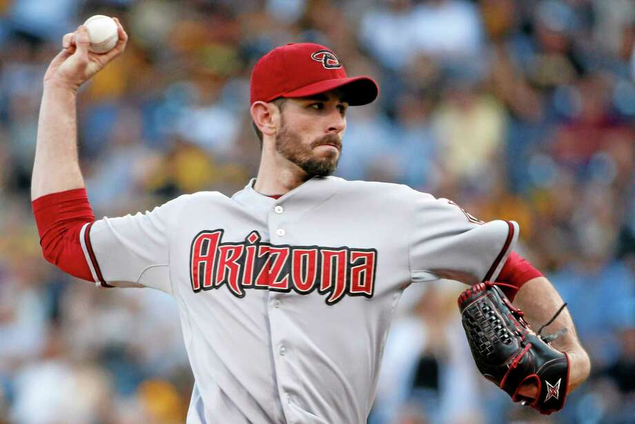 The Yankees acquired starting pitcher Brandon McCarthy in a trade with the Diamondbacks on Sunday. Photo: Gene J. Puskar — The Associated Press  / AP