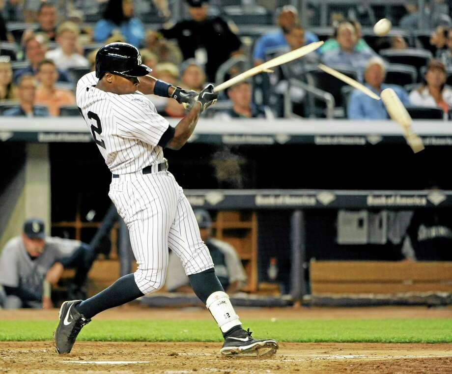 The Yankees designated Alfonso Soriano for assignment on Sunday. Photo: Kathy Kmonicek — The Associated Press File Photo  / FR170189 AP