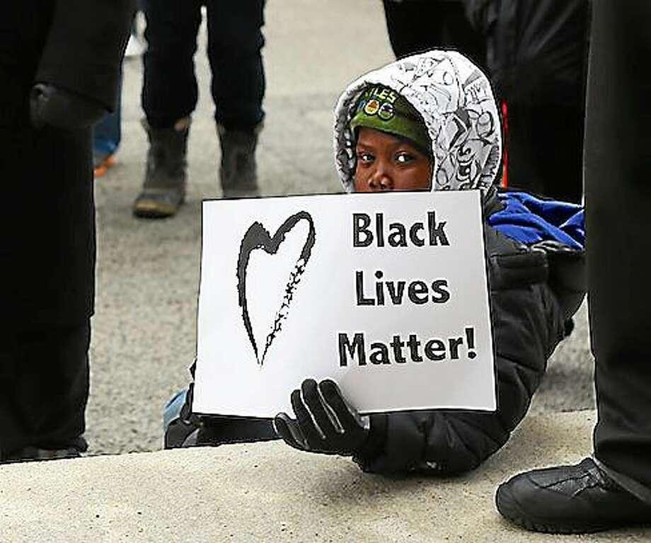 Joshua Keaton, 7, of East Hartford. Photo: (Doug Hardy)
