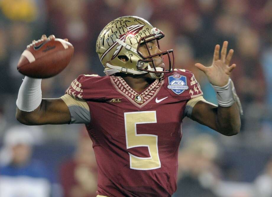 Quarterback Jameis Winston and Florida State will face off against Oregon in the Rose Bowl on Jan. 1. Photo: The Associated Press File Photo  / FR34342 AP