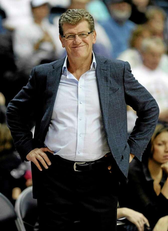 UConn coach Geno Auriemma. Photo: Jessica Hill — The Associated Press  / FR125654 AP