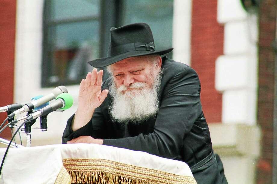 The late Rebbe, Rabbi Menachem Mendel Schneerson (contributed photo) Photo: Journal Register Co.