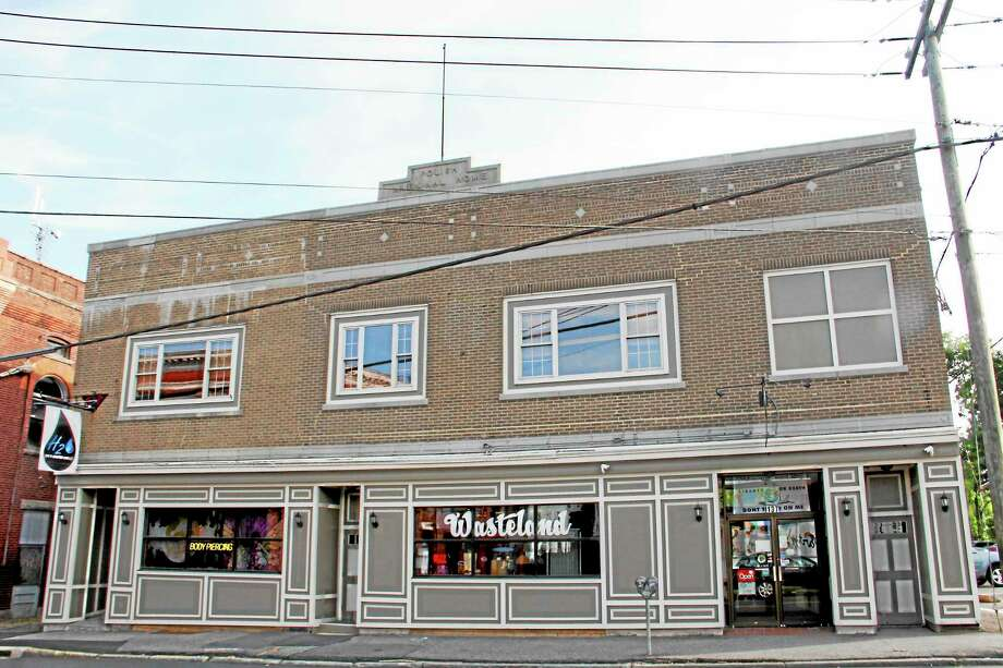 The building on Water Street in Torrington that will house the Downtown Cafe, which will be operated by Paul Murdock, owner and CEO of a restaurant with the same name in Bristol. Photo: Esteban L. Hernandez—Register Citizen