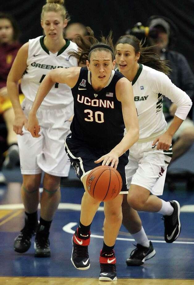 UConn's Breanna Stewart. Photo: The Associated Press File Photo  / The News-Press