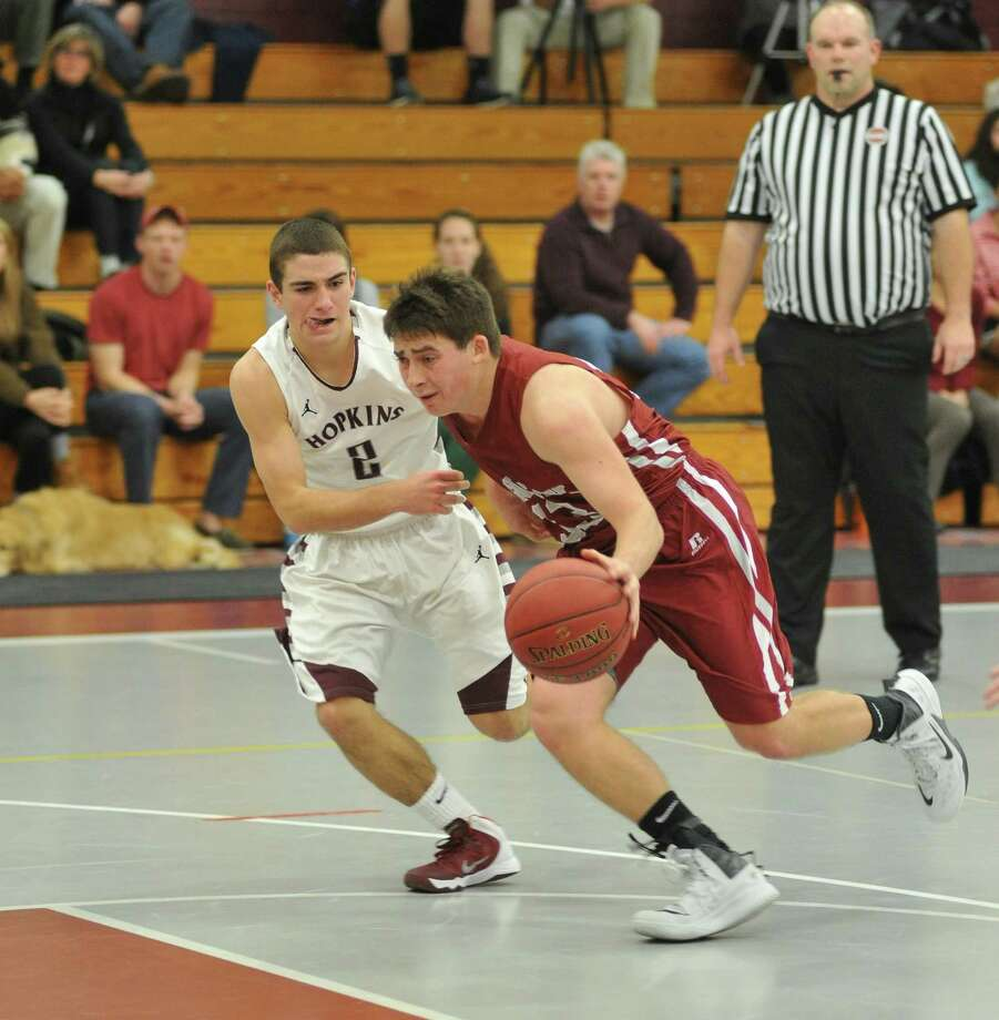 Nick Nemergut is playing both basketball and golf at The Gunnery School for a post grad year. Photo: Photo By Philip Dutton