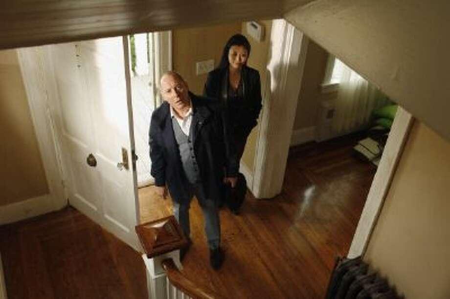 "James Spader as Raymond ""Red"" Reddington, Deborah S. Craig as Luli, in an episode of the new NBC drama, ""The Blacklist"" Photo: NBCU Photo Bank Via Getty Images / 2013 NBCUniversal Media, LLC"