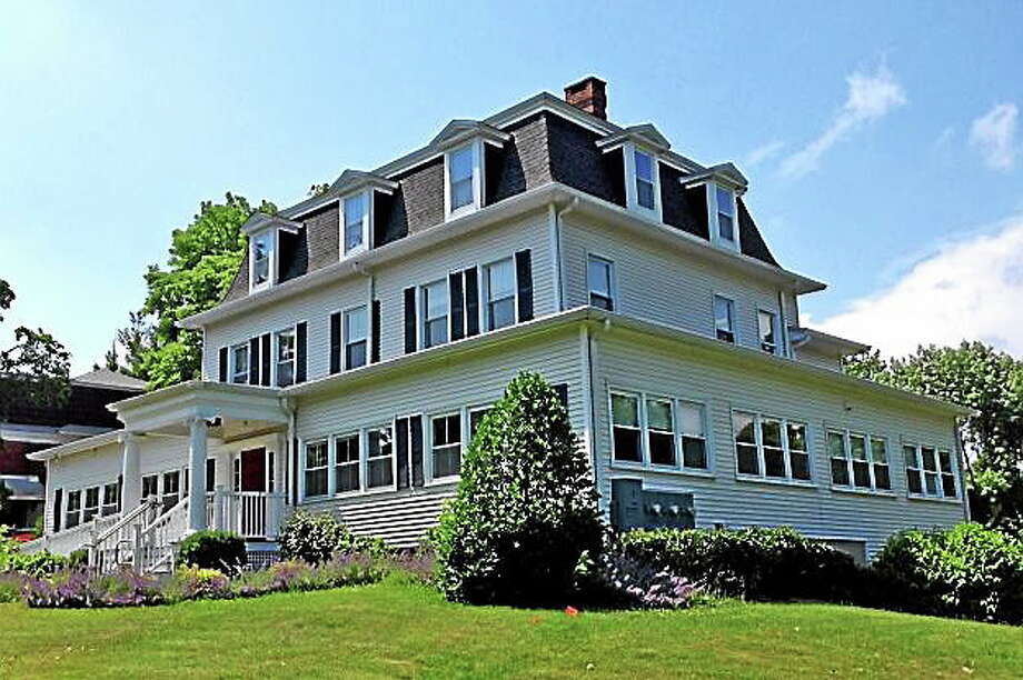 The home of former Connecticut Gov. Phineas Lounsbury (pictured) faces demolition. Photo: Screenshot Via Newstimes.com/Evan Fallor
