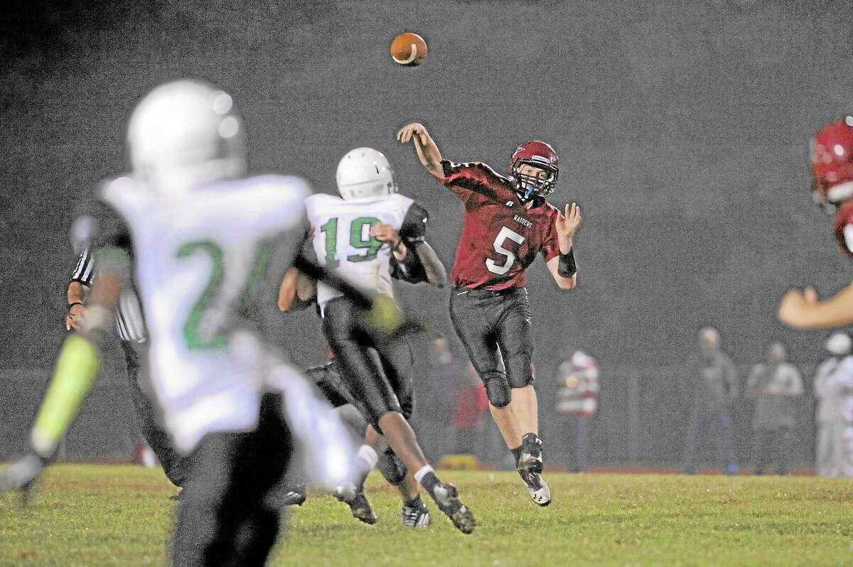 So far this season Connor Finn has thrown 10 touchdowns for the Red Raiders.