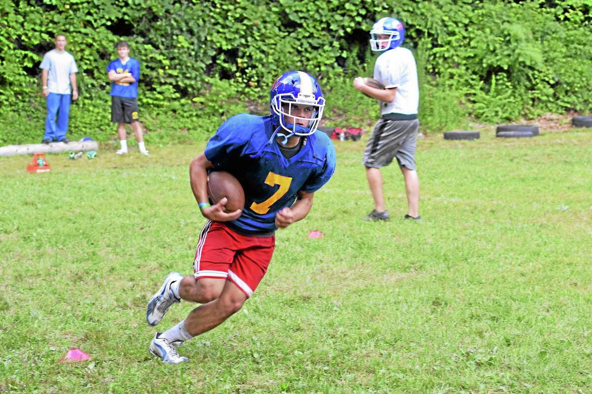 Tony Ortiz will be an important part of the Yellowjackets offense this season. He is coming off a season where he rushed for 13 touchdowns.