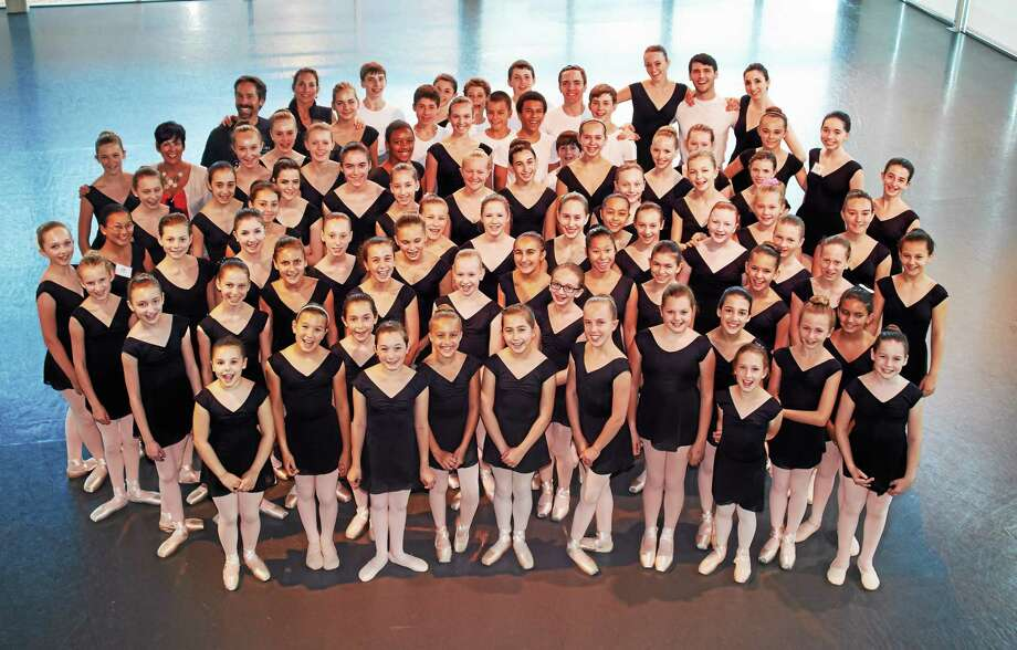 Kim Fazzino/Fazzino Photography  Above,members of the Nutmeg Ballet Conservatory 2014 Summer Pre-Professional Training Program. Photo: Journal Register Co.