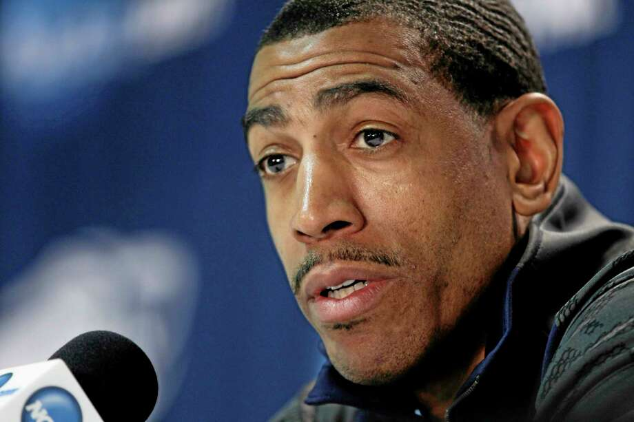 UConn head coach Kevin Ollie faced a tough challenge in replacing Jim Calhoun, but after two years he has the Huskies in the Sweet 16. Photo: Frank Franklin II  — The Associated Press  / AP