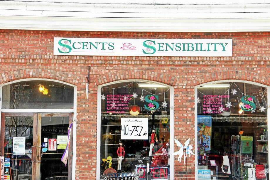 Outside Scents & Sensibility on Monday, Dec. 30, 2013, in Torrington. The store is one of four local businesses who this month announced they are closing. Esteban L. Hernandez Register Citizen Photo: Photos By Esteban L. Hernandez — Register Citizen